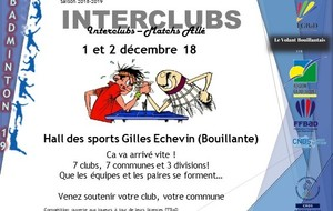Interclubs 19 - Phase Aller